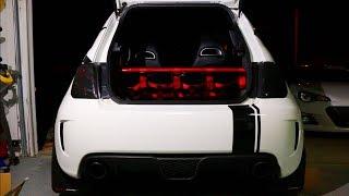 FIAT 500 ABARTH REAR SEAT DELETE!! (MS Racing)