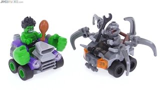 LEGO Mighty Micros Hulk vs Ultron review! 76066
