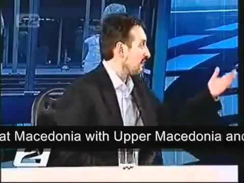 Ljubčo Georgievski smashes Pseudomacedonism (1)-1..flv