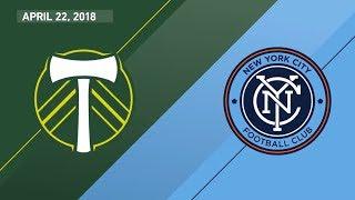 HIGHLIGHTS: Portland Timbers vs. New York City FC | April 22, 2018