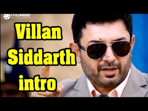 Thani oruvan villan bgm ( siddarth intro )
