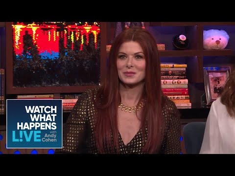 Debra Messing Would Rather Be Stuck With Donald Trump  WWHL