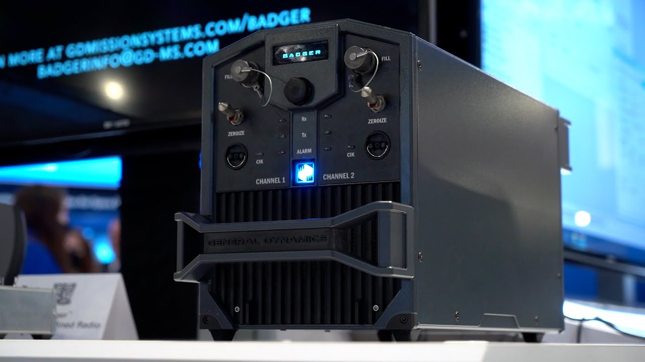 General Dynamics Mission Systems introduces Badger software-defined radio