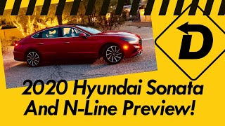 Driving The 2020 Hyundai Sonata Limited, SEL Plus and N-Line! (No, It's Not Just A Pretty Body).