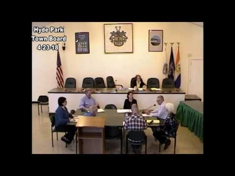 Hyde Park Town Board 4-23-18