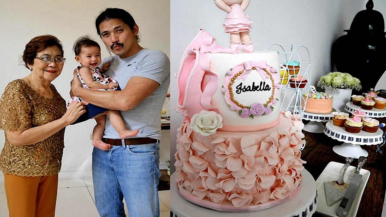 Baby Isabellas 6 Months Old Birthday Celebration