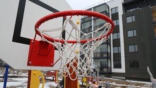 В Юттери устанавливают детские и спортивные комплексы(В финском городке Юттери строители приступили к очень важной части благоустройства – установке игровых..., 2016-02-05T13:46:15.000Z)