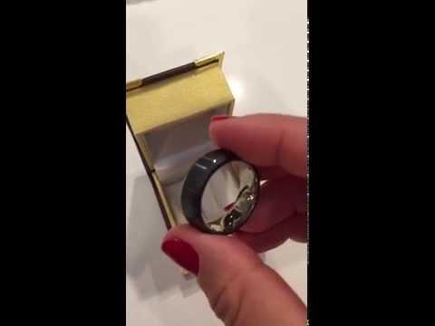 New Style Titanium Men's Promise Ring