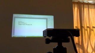 Мобильный проектор(Спасибо магазину http://www.optk.ru за предоставленный образец. Купить проектор со скидкой можно по этому адресу..., 2014-10-19T15:05:48.000Z)