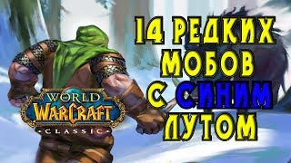 14 редких мобов с уникальным синим лутом! гайд World of WarCraft Classic/Vanilla