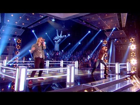 The Voice UK 2013 | Ricardo Afonso Vs Mitchel Emms: Battle Performance - Battle Rounds 3 - BBC One