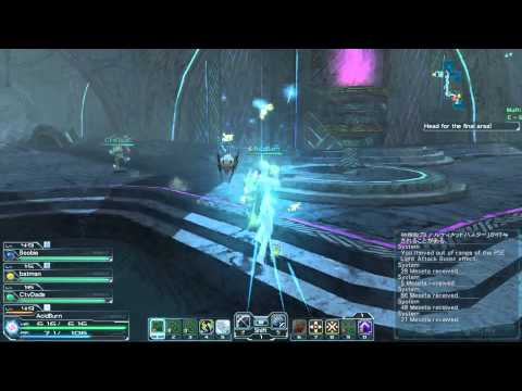 Phantasy Star Online 2 - Planet Vopar - Coast - Seabed Exploration - Ark Quest - Normal