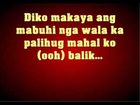 Balik by Kenneth Durano with Lyrics