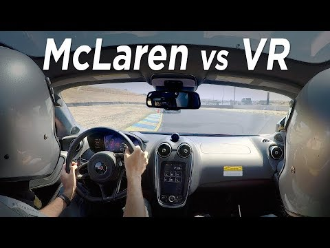Real McLaren vs Virtual Reality - On Track and Project Cars 2 - Everyday Driver