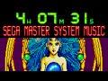 Over 4 hours of SEGA Master System music