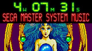 Over 4 hours of SEGA Master System music