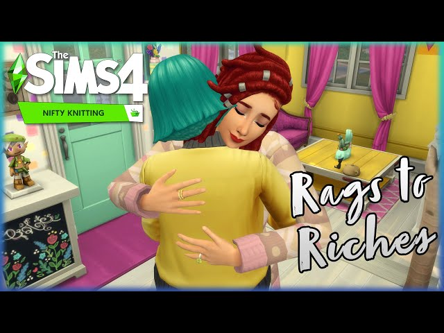 Nataly is Literally the Worst at Knitting // Ep. 23 // Rags to Riches Challenge // Nifty Knitting