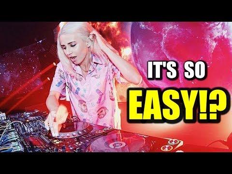 How to mix EDM EASILY 2019 | DDJ400