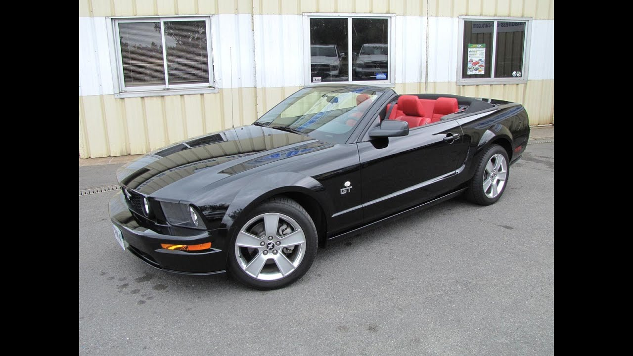 Ford Mustang Gt Cabriolet 2006
