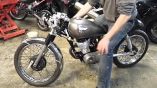 Honda cg rolling