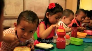 Play school and day care in Imphal, Manipur, India