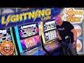 25 Spins NEW Lightning Cash Moon Race BONU ROUND Handpay The Big Jackpot mp3