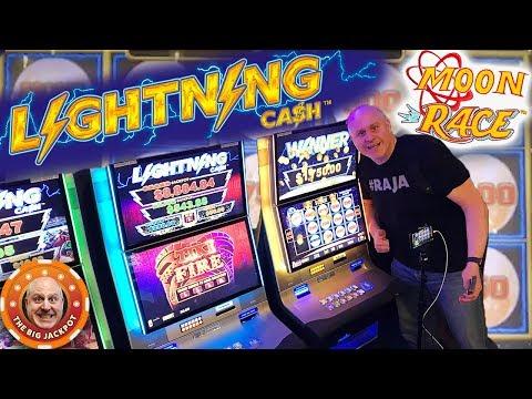 $25 Spins ⚡NEW Lightning Cash Moon Race! ⚡BONU$ ROUND Handpay 🚀| The Big Jackpot
