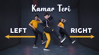 Kamar Teri Left Right Dance Video With Tutorial  | Vicky Patel Choreography |  Trending Haryanvi
