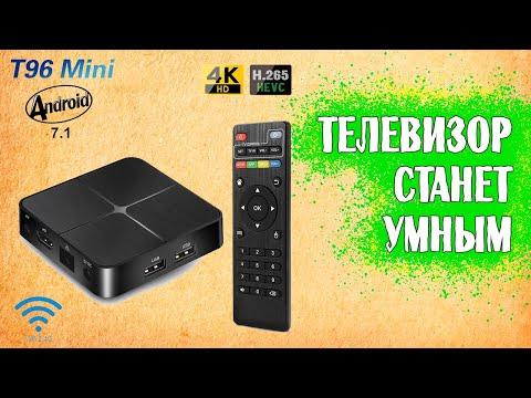 Смарт тв приставка T96Mini 2Gb. Установка БЕСПЛАТНЫХ каналов.