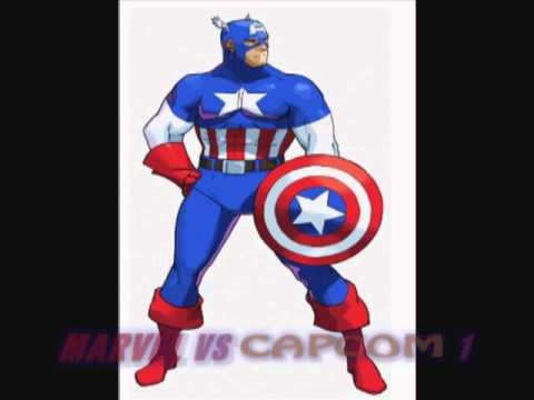 All of Captain America's themes (from MSH to MVC3)