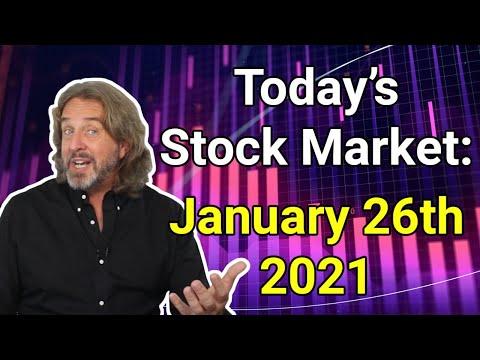 Stock Market Today | January 26, 2021