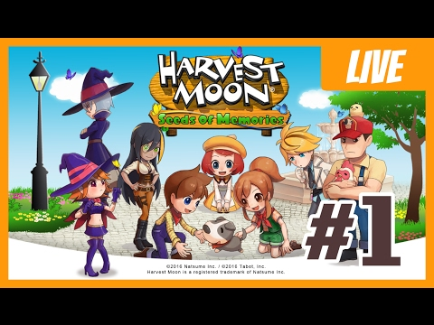 Recall The Memory of The Town - Harvest Moon : Seed of Memories, Episode 1