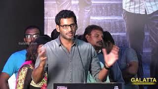 Vishal Blast Speech   Nungambakkam Trailer Launch