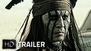 LONE RANGER Super Bowl Trailer German Deutsch HD 2013