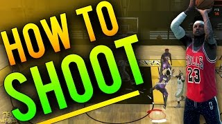 NBA 2K16 Tips: How To SHOOT and Make EVERY SHOT - How To Get PERFECT A+ Releases EVERY TIME in 2K16!