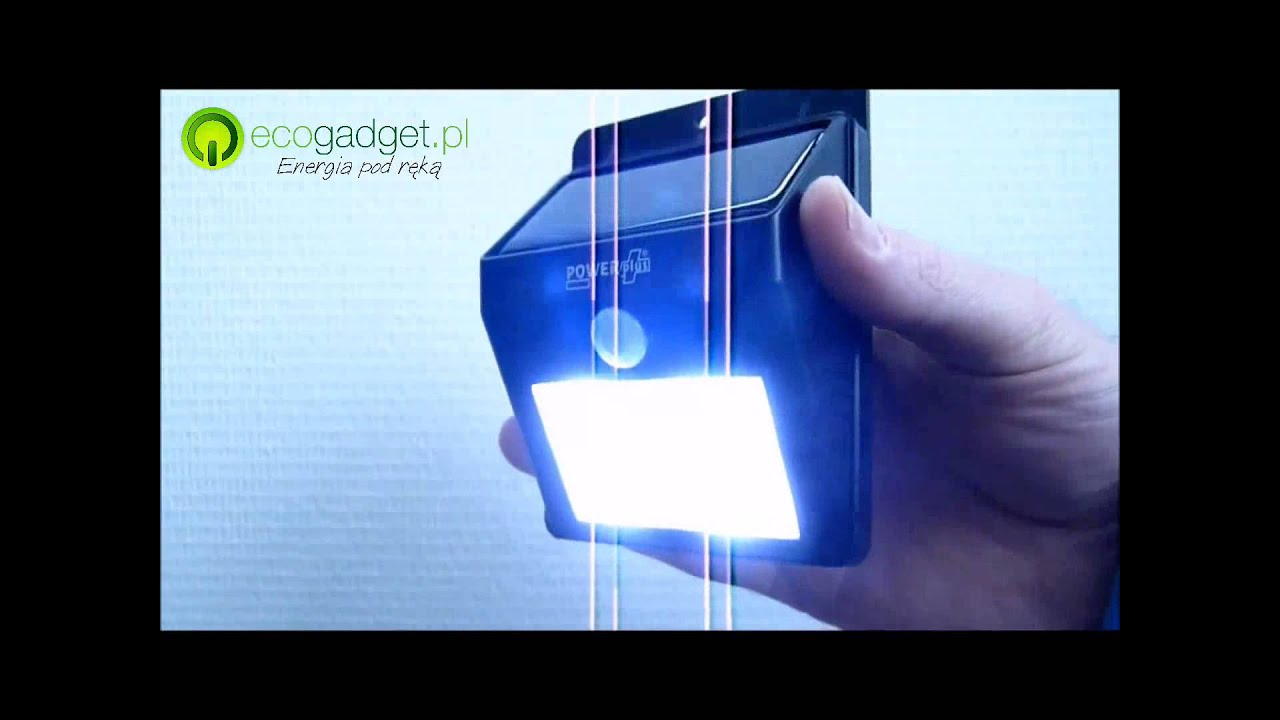 Cat Solarna Lampa 4 Led Z Czujnikiem Ruchu Do Domu I Ogrodu Od Ecogadgetpl