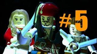LEGO Pirates of the Caribbean #5 isla de muerta (walkthrough) Xbox one (curse of the black pearl)