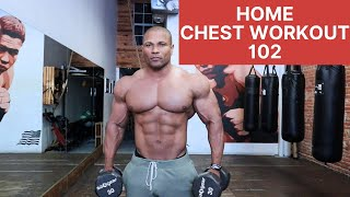HOME CHEST WORKOUT WITH DUMBBELLS-102