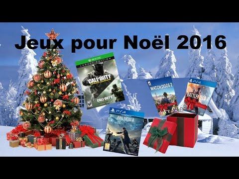 Liste des jeux vidéo à offrir pour Noël 2016