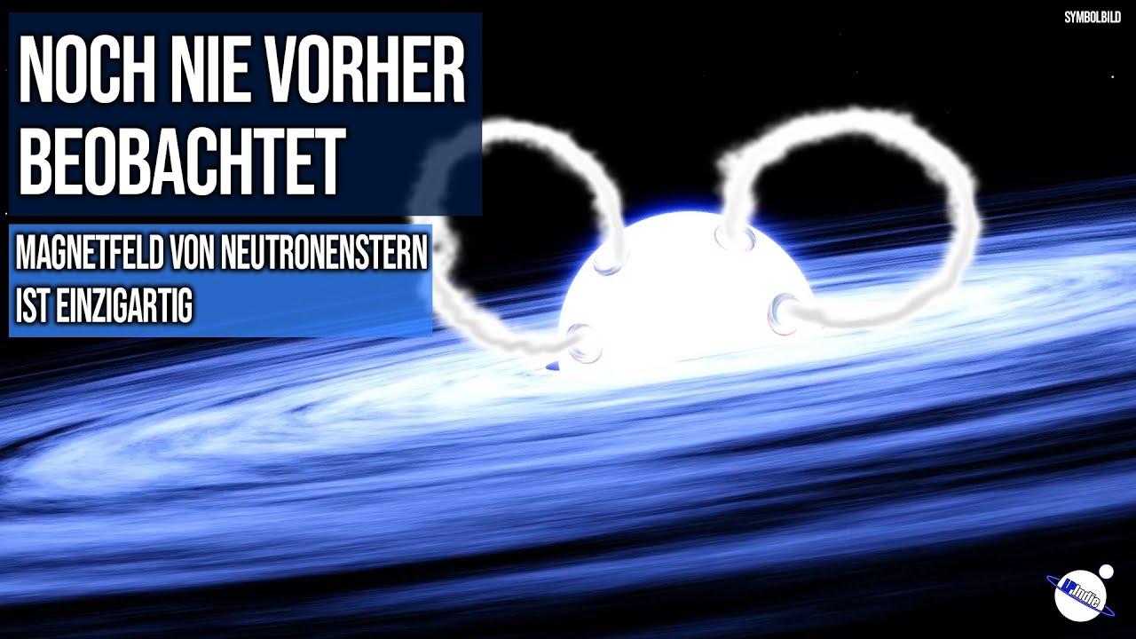 Noch nie vorher beobachtet - Magnetfeld von Neutronenstern GRO J205842 ist einzigartig