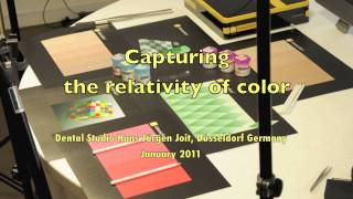 Capturing the relativity of color full version
