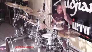 Nirvana - Smells Like Teen Spirit, 9 Year Old Drummer, Jonah Rocks.