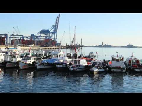 Chili Valparaiso Port / Chile Valparaiso Port