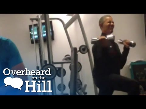 Obama Hits The Gym | Overheard On The Hill | msnbc