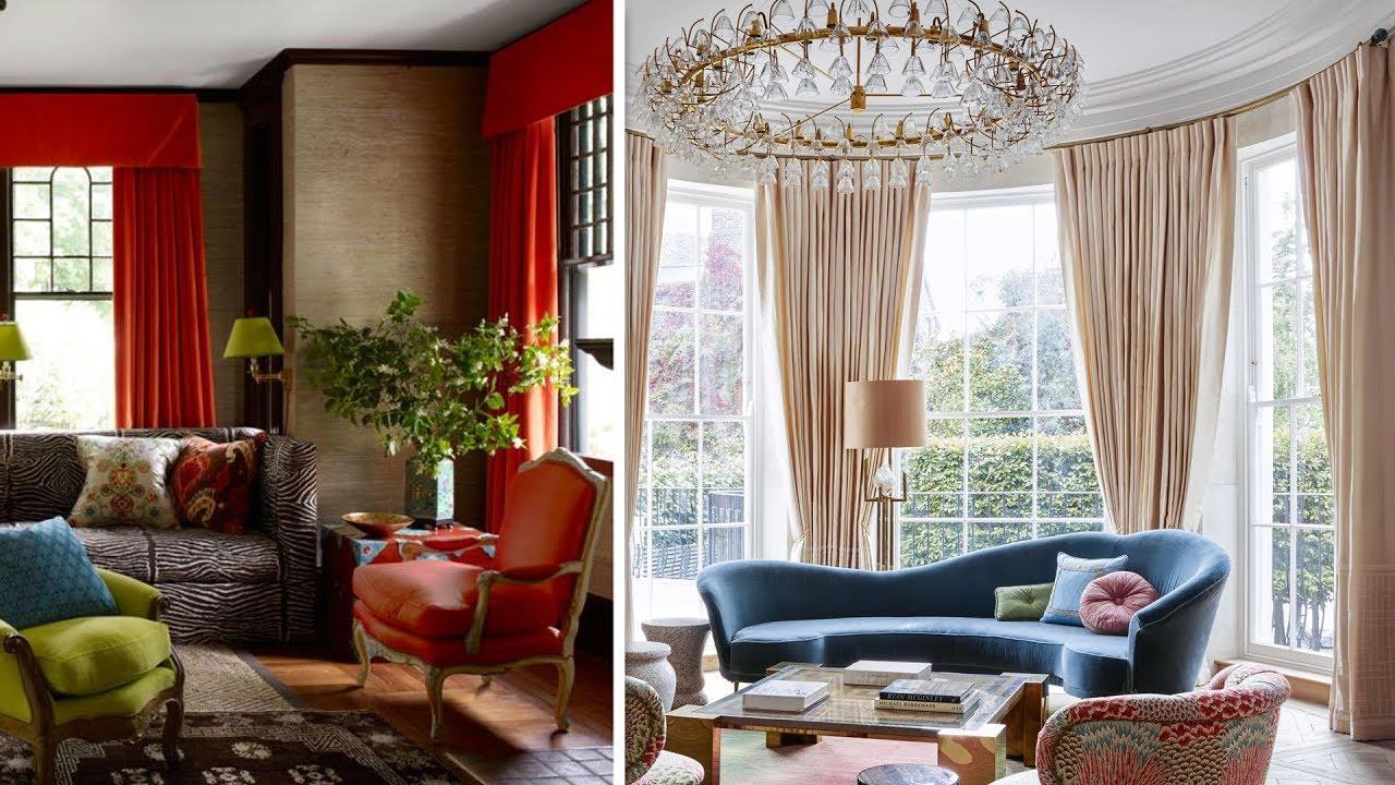 10 diseños de cortinas para sala modernas - YouTube