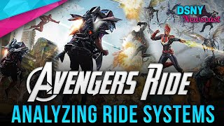 Possible Ride Systems for AVENGERS RIDE Coming to Disneyland Resort - Disney News - 9/17/19