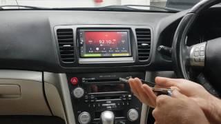 subaru legacy outback audio navigation replacement panasonic strada