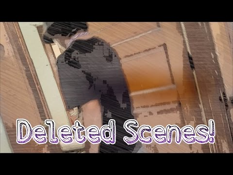 GHOST HUNTING ABANDONED SCHOOL DELETED SCENES!