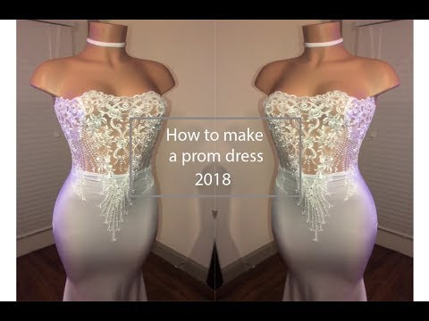 How to make a prom dress | Designs by Liam Li