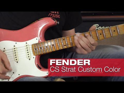 Fender Custom Shop Stratocaster Heavy Relic 1957 Custom Color over 2TSB & 1962 Custom Color over BLK